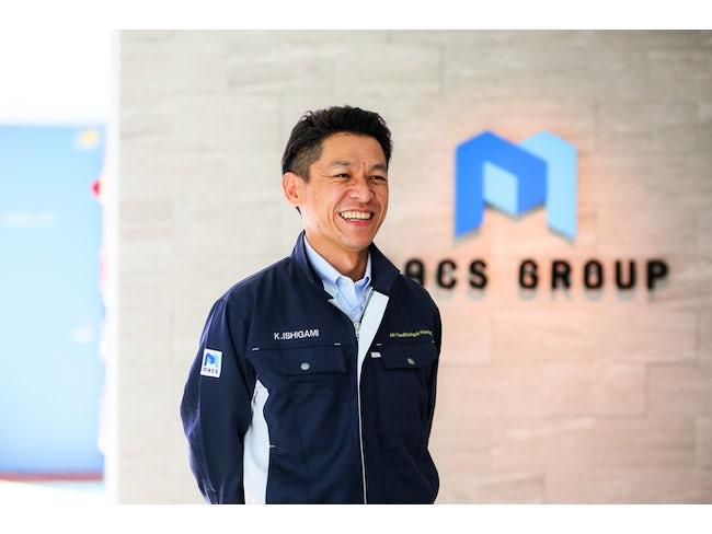 株式会社マック設備計画 営業技術本部 課長  石上建士